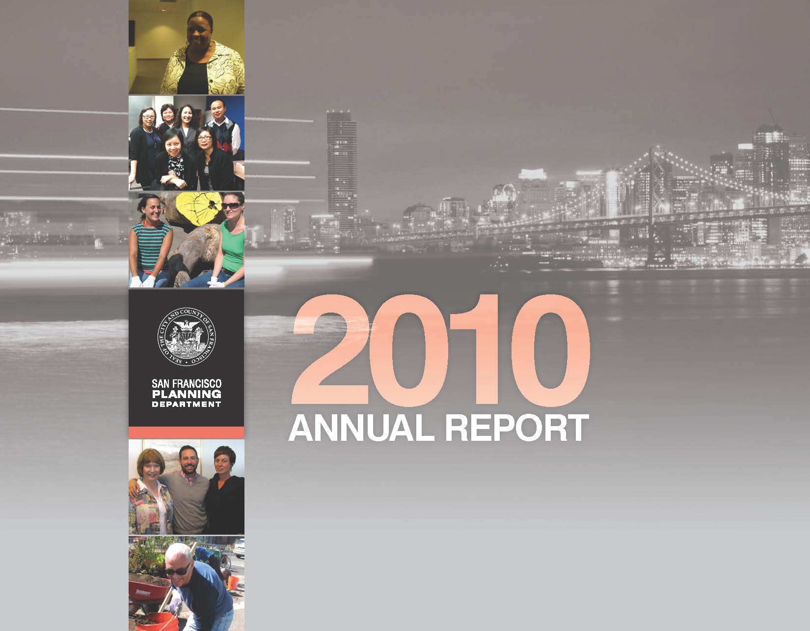 Cover Image for the Department's 2009-2010 Annual Report