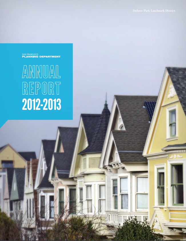 Cover Image for the Department's 2012-2013 Annual Report