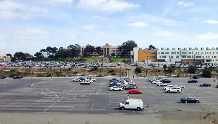 Photo of Balboa Reservoir Parking Lot