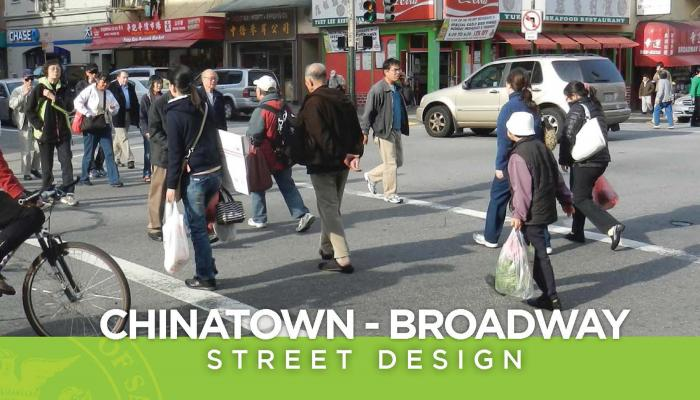 Cover Image of Chinatown Broadway Street Design