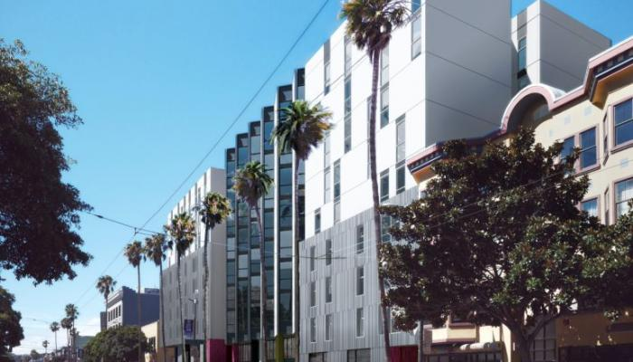 Rendering of 1950 Mission, courtesy of David Baker Architects