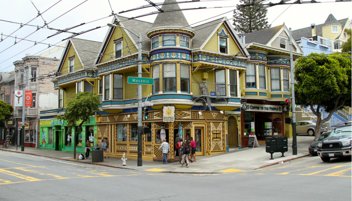 Photo of Haight and Masonic Street