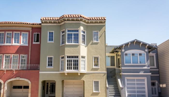Photo of residential homes in SF