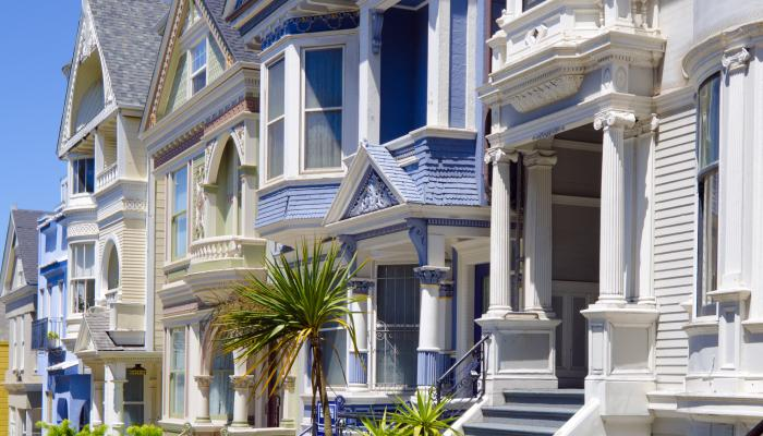 Ornate Homes in San Francisco