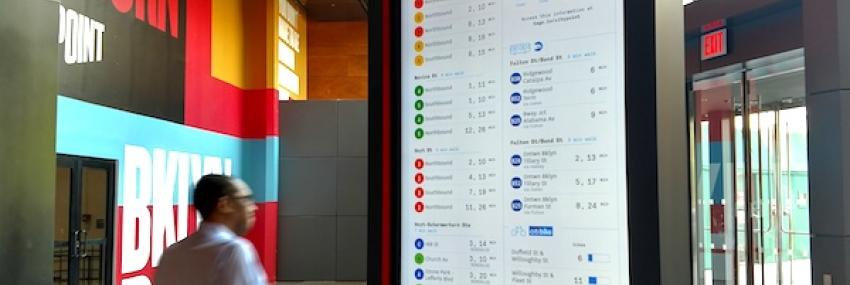 Real-Time Transportation Information Display