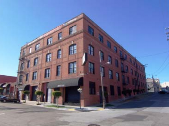 Abel Hosmer warehouse at 212 Utah Street