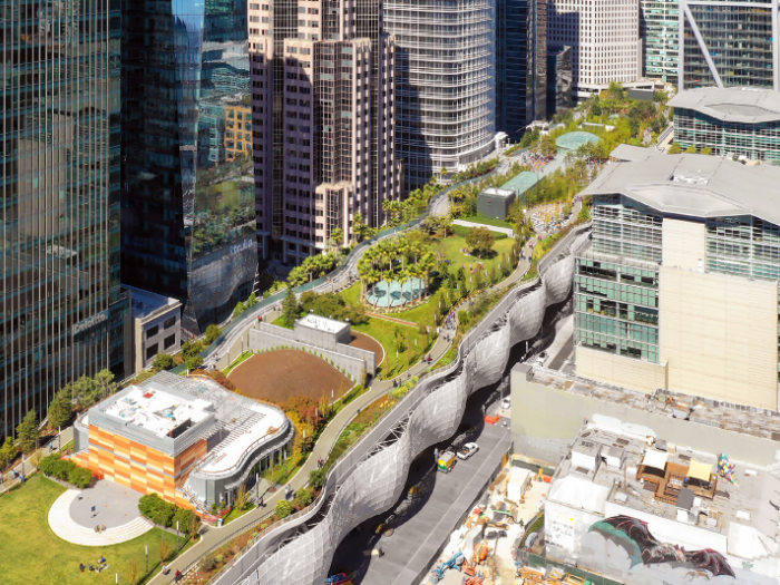 cover image showing transbay terminal aerial view photo by Sergio Ruiz